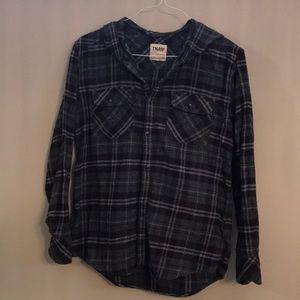 TNA flannel sweater